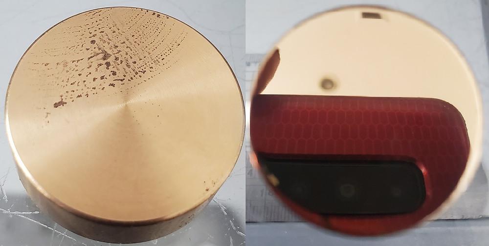真鍮材の鏡面研磨(株式会社旭研磨工業所)
