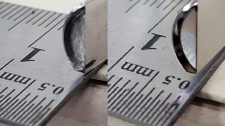 数μの薄膜・酸化膜・バリ除去 ㈱旭研磨工業所