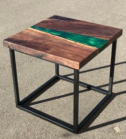 Epoxy River Side Table