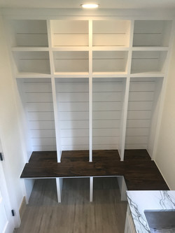 Shiplap Mudroom