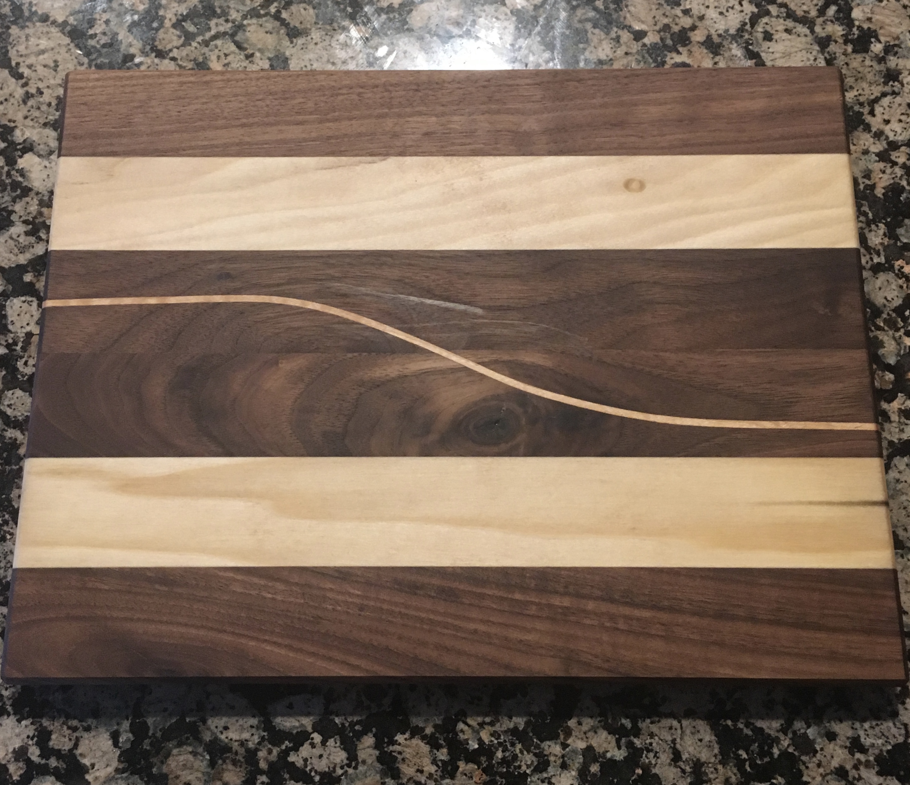 Walnut/Maple Cutting Board