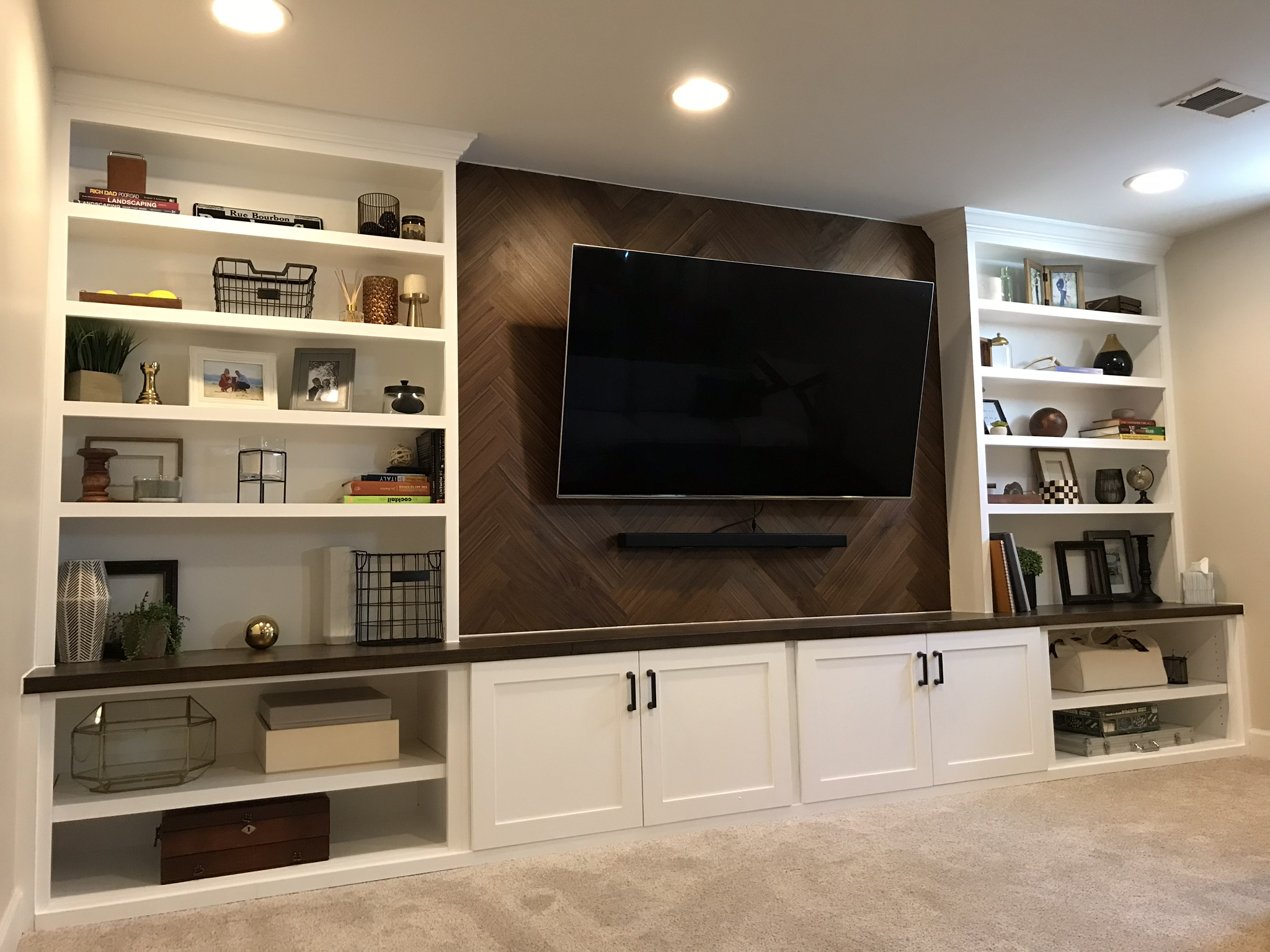Basement Media Center