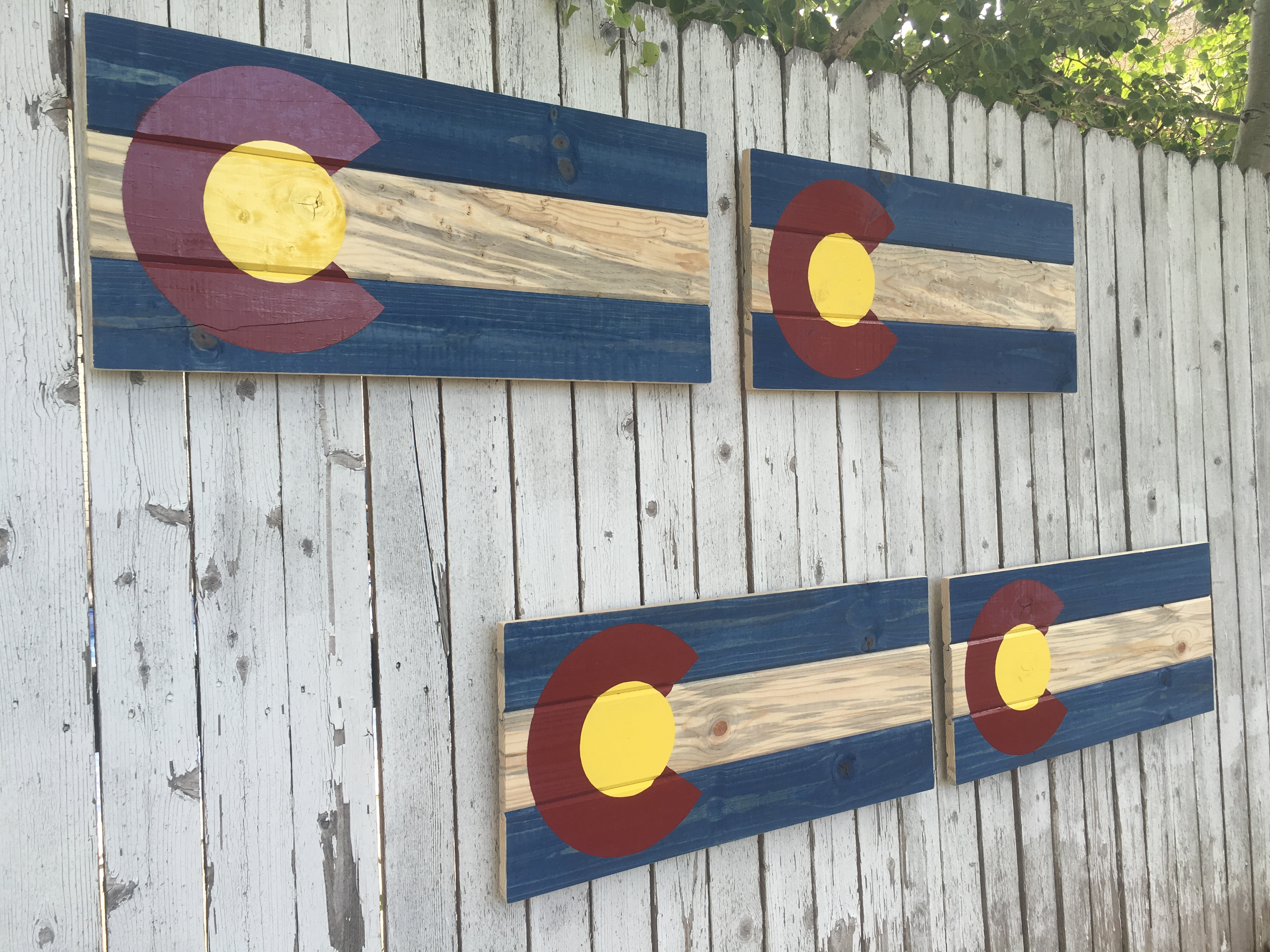 Colorado Flag Wall Mounts