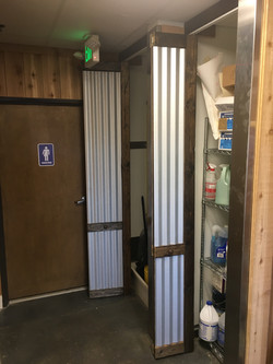 Corrugated Bifold Doors