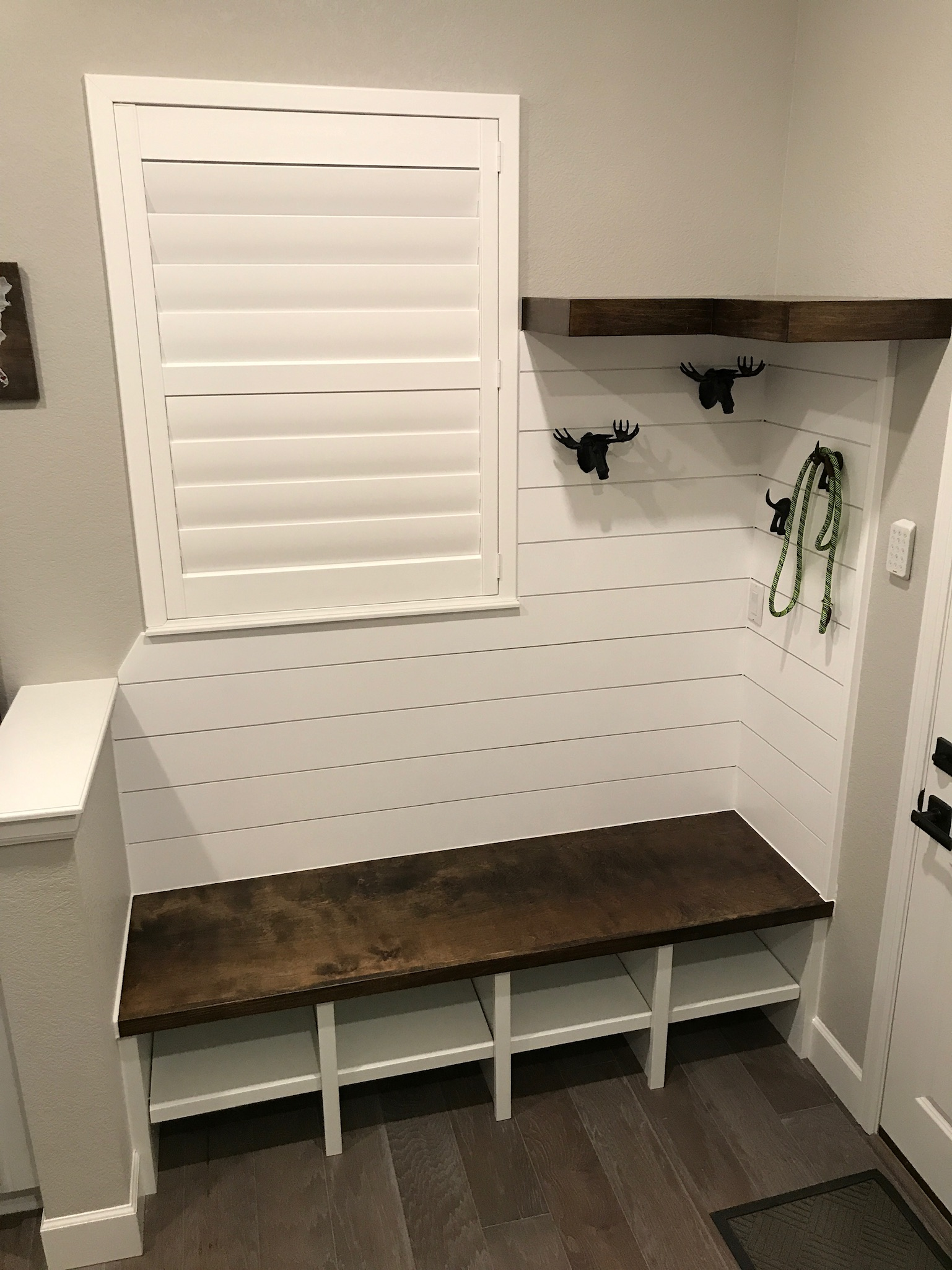 Entryway Mudroom