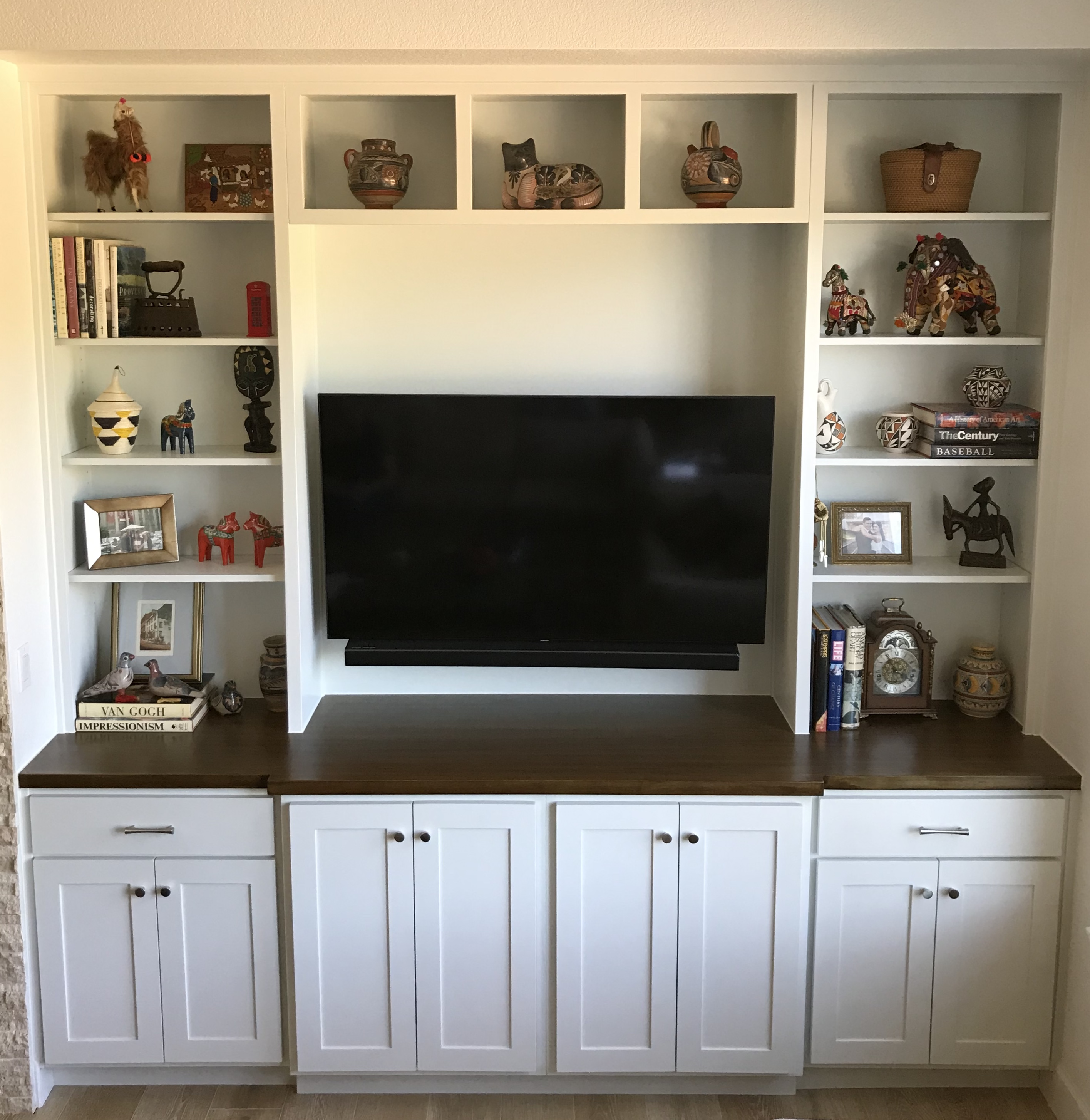 Built In Media Center