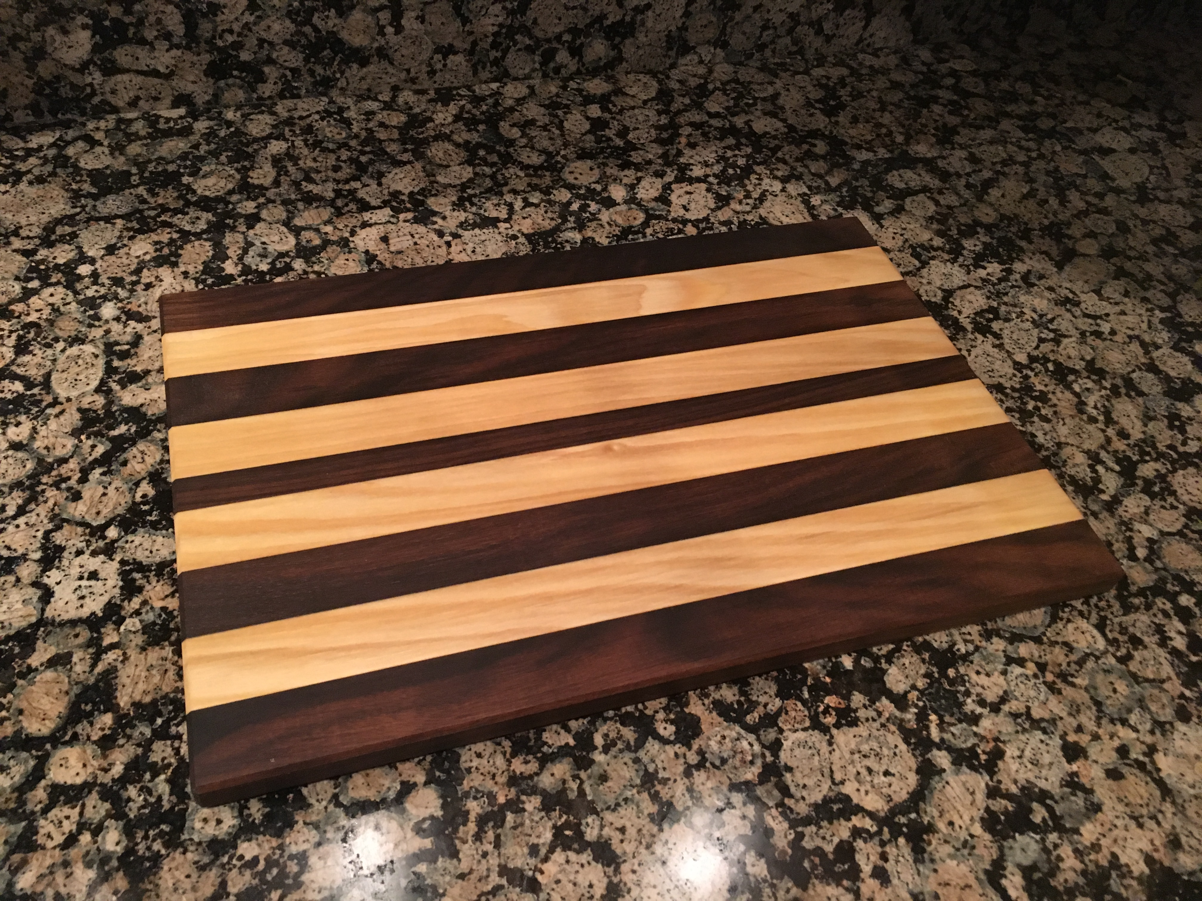 Straight Line Cutting Board