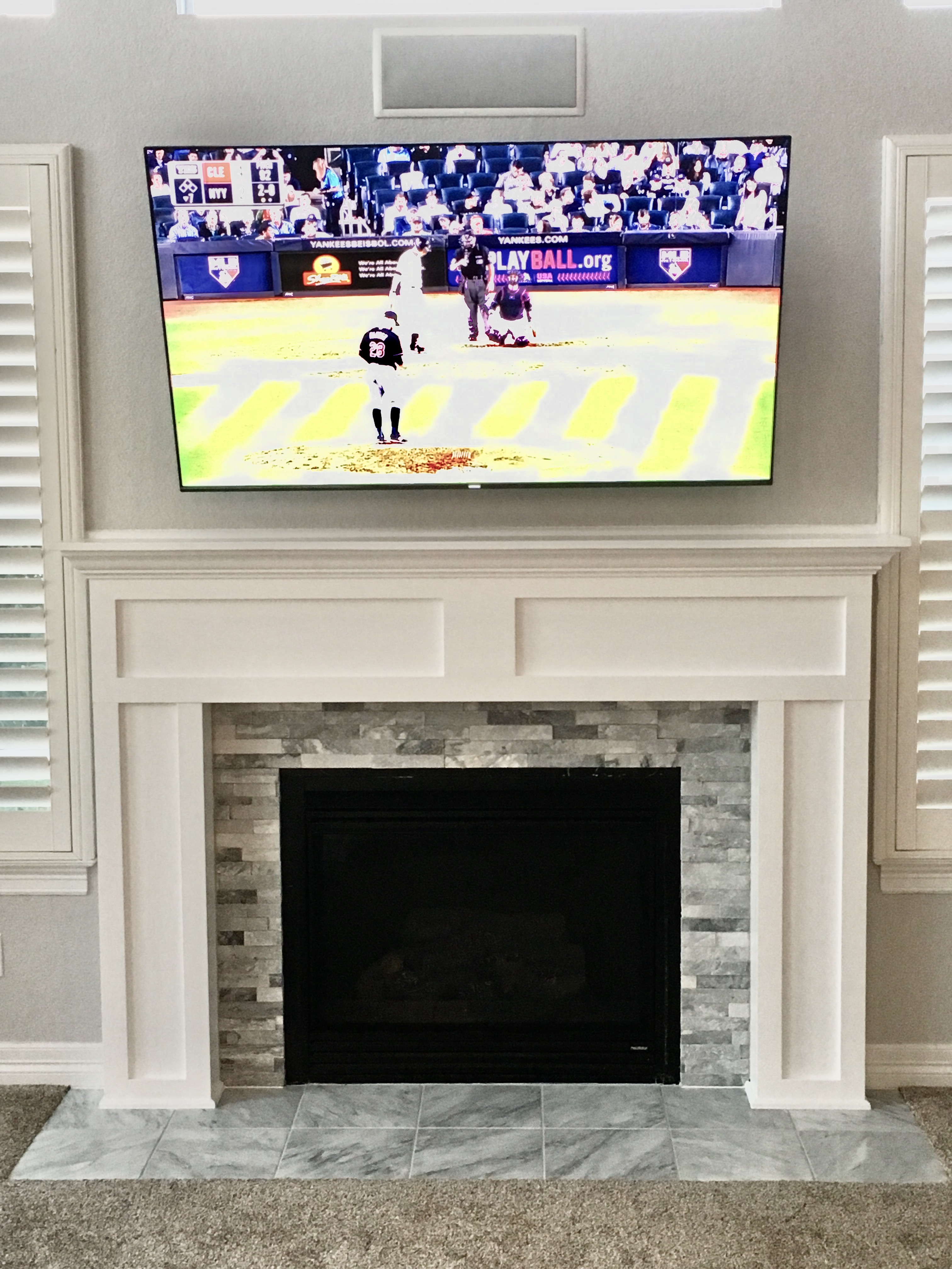 Fireplace Mantel and Surround