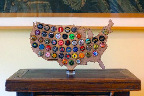 United States Desktop Cap Map