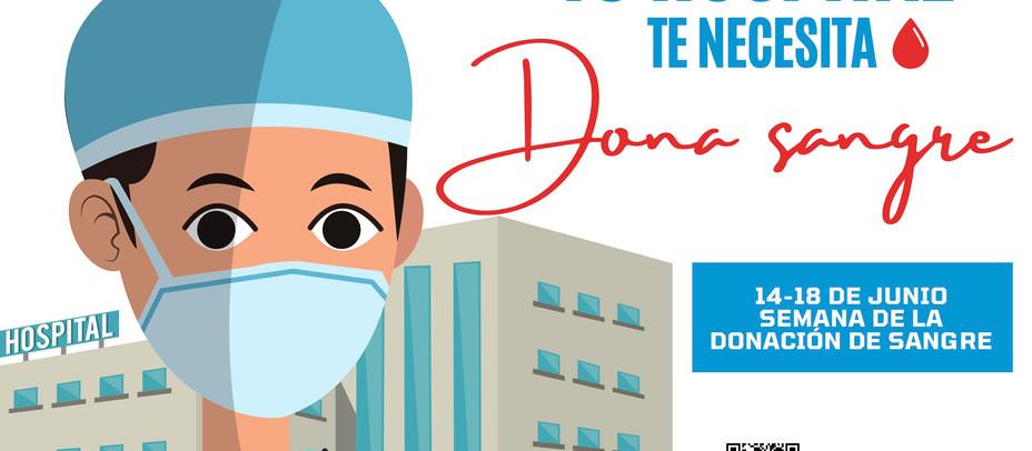Alcobendas se suma a la 'Semana de la donación de sangre. Tu hospital te necesita'