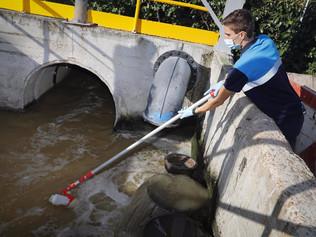 El coronavirus crece levemente en las aguas residuales de Alcobendas