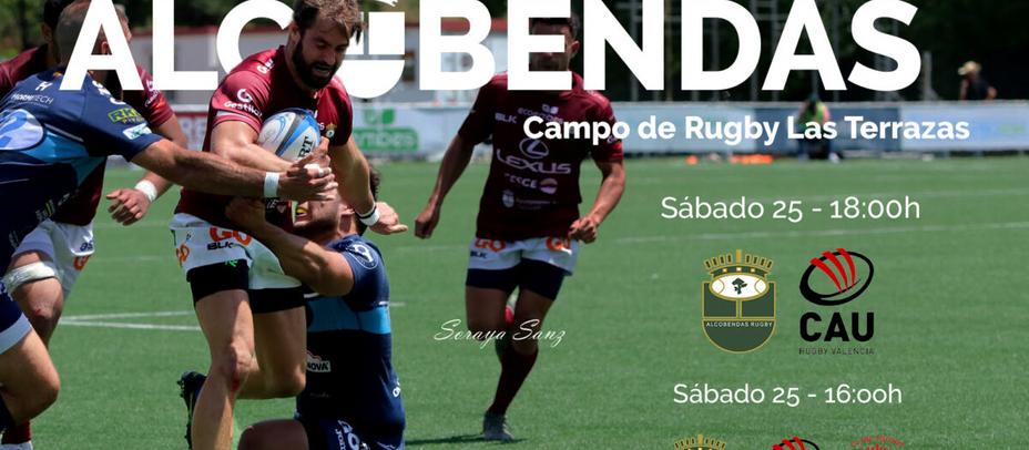 Este fin de semana vuelve el rugby con el Torneo Ciudad Alcobendas