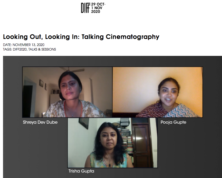 DIFF 2020 : Looking Out, Looking In: Talking Cinematography