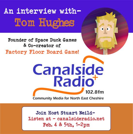 It's Tom on the Radio!