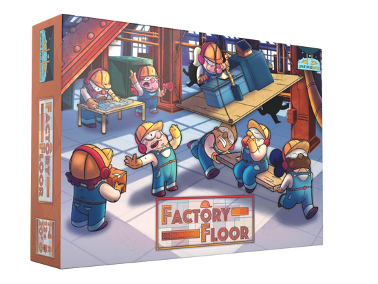 FACTORY FLOOR KICKSTARTER LAUNCH FEB 16TH 2021!