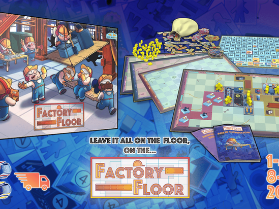 Press Release-FACTORY FLOOR by SPACE DUCK GAMES