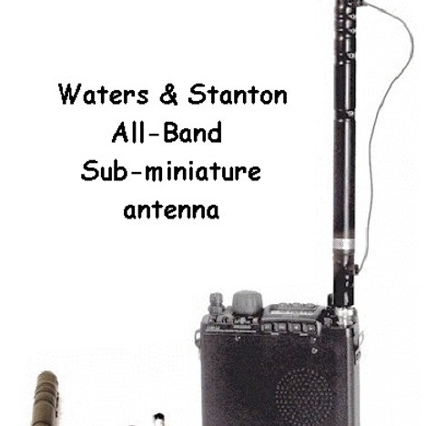 ATX Waters& Stanton All Band Miniature Antenna