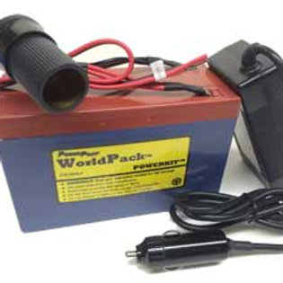 WorldPack Lithium 10 AH PowerSupply with fast charger