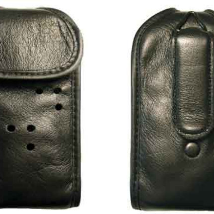 Radio Pouch - Glove Quality Leather