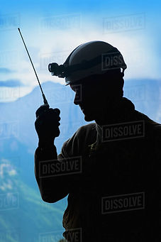 Radio operator in mountains.jpg