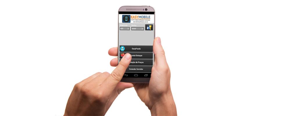 EASYCOMMERCE agora no seu celular!