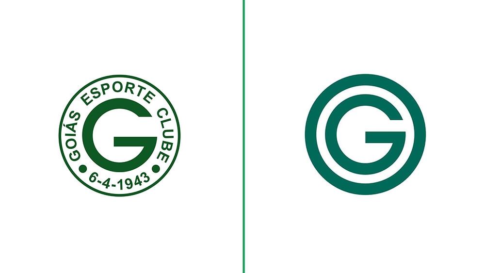 Nova marca do Goiás tem menos informações e tom mais suave.
