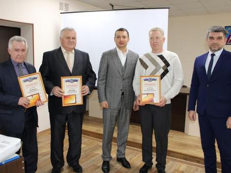 В администрации города чествовали работников отрасли ЖКХ.