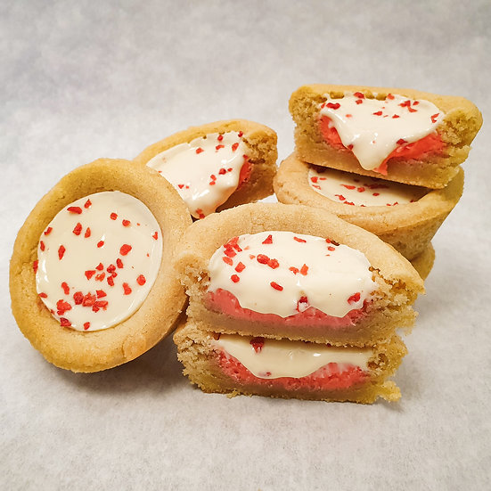 Strawberry Cookie Cup