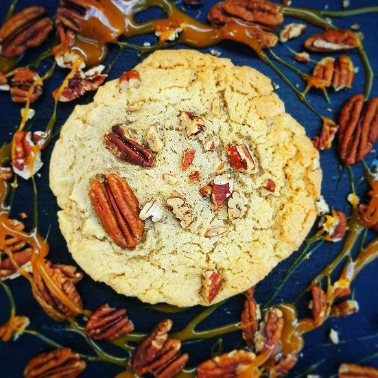 Salted Caramel & Pecan Cookies