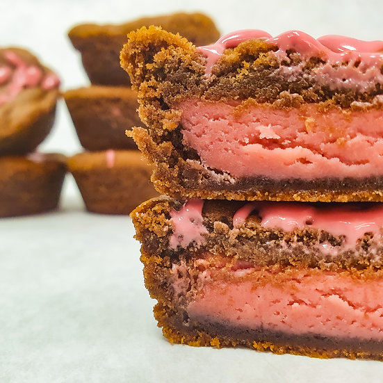 Ruby Fudge Cookie Cup