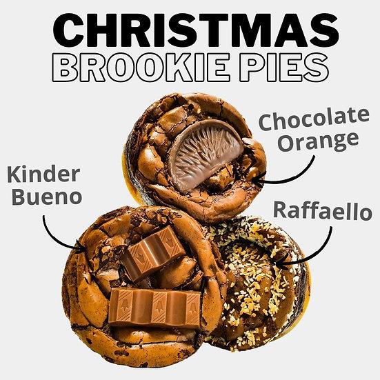 - Christmas Brookie Pie Box