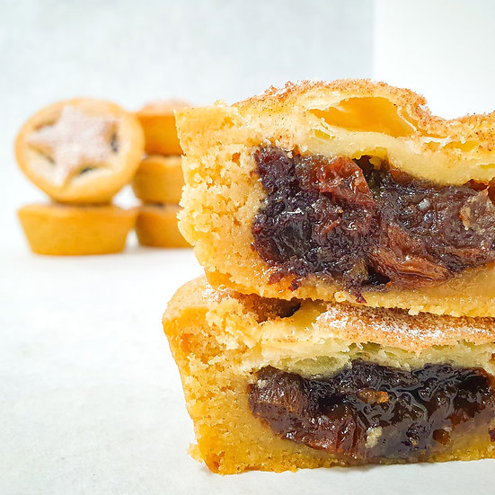Mince Pie Cookie Cup