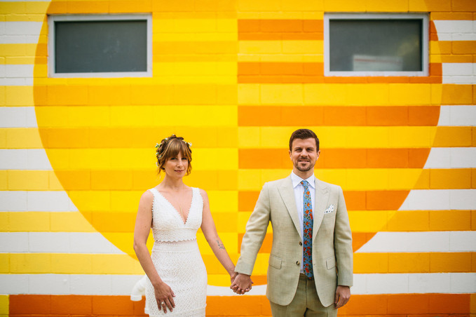 Ace Hotel Modern Desert Wedding
