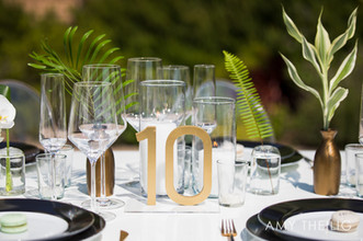 Modern Wedding at Catalina View Gardens