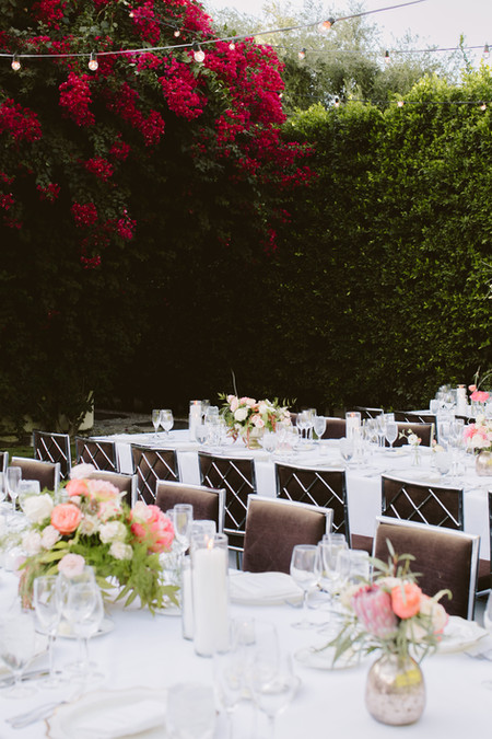 Colorful Pink Wedding Parker Palm Springs