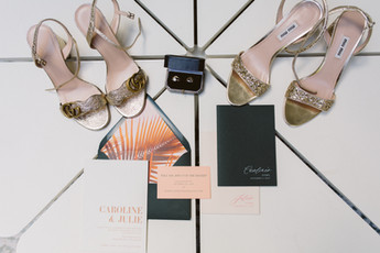 Colorful Parker Palm Springs Wedding