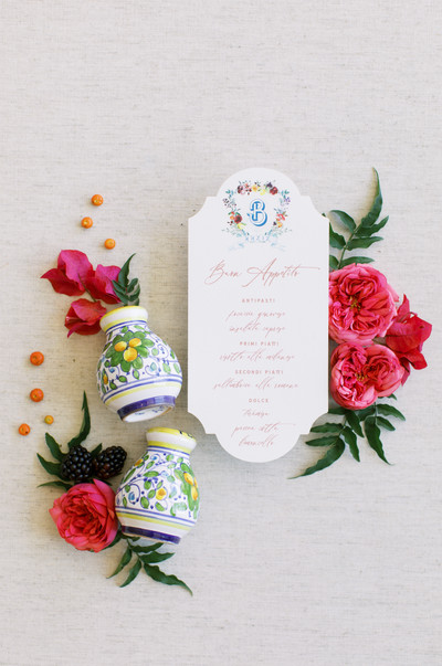Coastal Italian Wedding Inspiration