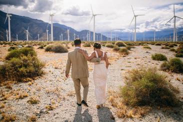Ace Hotel Modern Desert Wedding