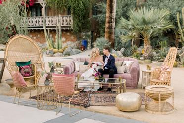 Colony 29 Wedding Palm Springs Boho Lounge