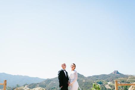 Cielo Farms Vineyard Wedding