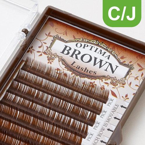 OPTIMA Chocolat Brown - Single/Mixed Length
