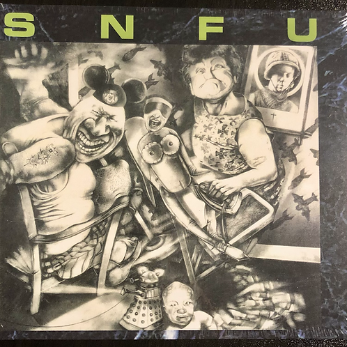 SNFU - Better Than A Stick In The Eye LP