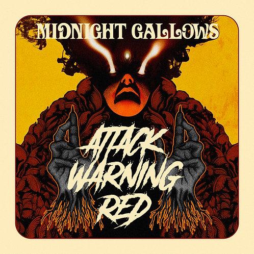 Midnight Gallows - Attack Warning Red LP