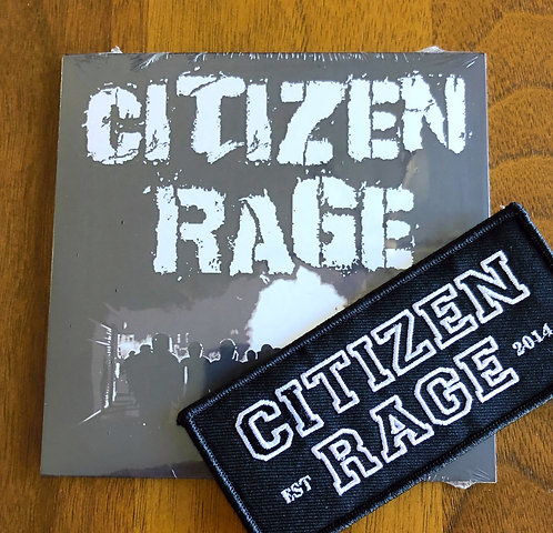 Citizen Rage Black EP CD/Patch Combo