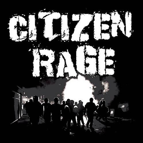 Citizen Rage Black EP CD & Patch Combo!