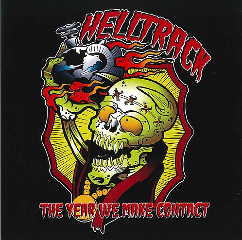 Helltrack - The Year We Make Contact CD