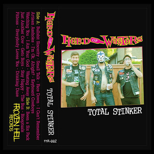 Herd Of Wasters - Total Stinker Cassette