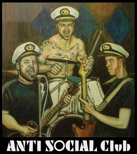 Antisocial Club - S/T Cassette