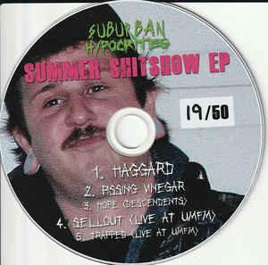 Suburban Hypocrites - Summer Shitshow EP CD