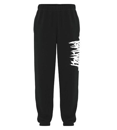 Total Wolf Black Sweatpants